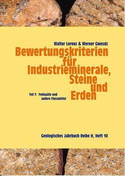 Bewertungskriterien für Industrieminerale, Steine und Erden von Gwosdz,  Werner, Lorenz,  Walter