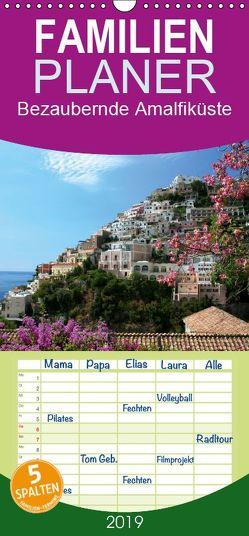 Bezaubernde Amalfiküste – Familienplaner hoch (Wandkalender 2019 , 21 cm x 45 cm, hoch) von Lantzsch,  Katrin