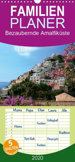 Bezaubernde Amalfiküste – Familienplaner hoch (Wandkalender 2020 , 21 cm x 45 cm, hoch) von Lantzsch,  Katrin