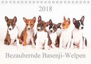 Bezaubernde Basenji-Welpen (Tischkalender 2018 DIN A5 quer) von Joswig,  Angelika