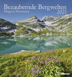 Bezaubernde Bergwelten 2021 – Foto-Kalender – Wand-Kalender – 45×48 – Berge – Natur von Mirau,  Rainer