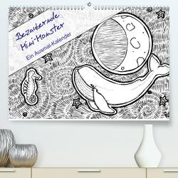 Bezaubernde Mini-Monster – Ein Ausmal-Kalender (Premium, hochwertiger DIN A2 Wandkalender 2020, Kunstdruck in Hochglanz) von Zabel,  Benita