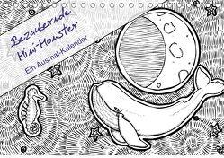 Bezaubernde Mini-Monster – Ein Ausmal-Kalender (Tischkalender 2018 DIN A5 quer) von Zabel,  Benita