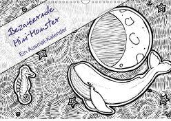 Bezaubernde Mini-Monster – Ein Ausmal-Kalender (Wandkalender 2018 DIN A3 quer) von Zabel,  Benita