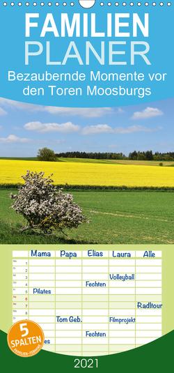 Bezaubernde Momente vor den Toren Moosburgs – Familienplaner hoch (Wandkalender 2021 , 21 cm x 45 cm, hoch) von Brigitte Deus-Neumann,  Dr.