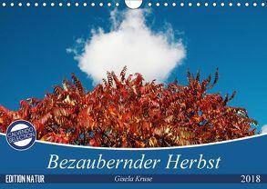 Bezaubernder Herbst (Wandkalender 2018 DIN A4 quer) von Kruse,  Gisela