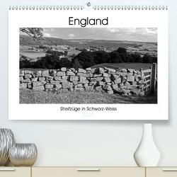 Bezauberndes England – Streifzüge in Schwarz-Weiss (Premium, hochwertiger DIN A2 Wandkalender 2021, Kunstdruck in Hochglanz) von Hallweger,  Christian