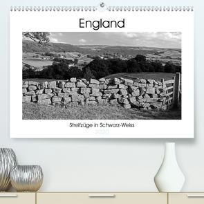 Bezauberndes England – Streifzüge in Schwarz-Weiss (Premium, hochwertiger DIN A2 Wandkalender 2020, Kunstdruck in Hochglanz) von Hallweger,  Christian