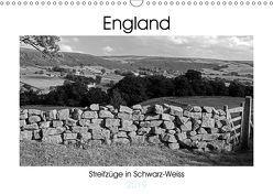 Bezauberndes England – Streifzüge in Schwarz-Weiss (Wandkalender 2019 DIN A3 quer) von Hallweger,  Christian