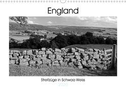 Bezauberndes England – Streifzüge in Schwarz-Weiss (Wandkalender 2020 DIN A3 quer) von Hallweger,  Christian