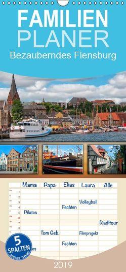 Bezauberndes Flensburg – Familienplaner hoch (Wandkalender 2019 , 21 cm x 45 cm, hoch) von Roder,  Peter