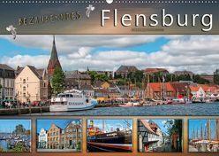 Bezauberndes Flensburg (Wandkalender 2018 DIN A2 quer) von Roder,  Peter