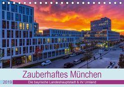 Bezauberndes München – Die bayrische Landeshauptstadt und ihr Umland. (Tischkalender 2019 DIN A5 quer) von Kelle,  Stephan