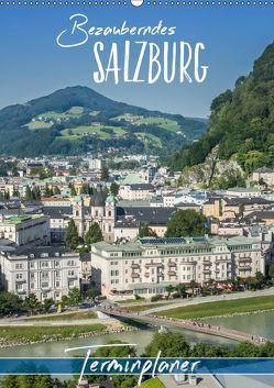 Bezauberndes SALZBURG / Terminplaner (Wandkalender 2019 DIN A2 hoch) von Viola,  Melanie