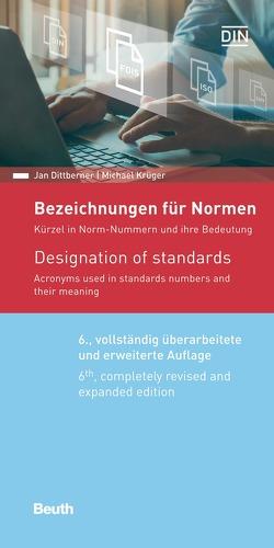 Bezeichnungen für Normen von Dittberner,  Jan, Krüger,  Michael