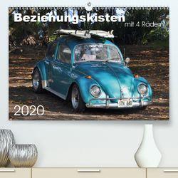 Beziehungskisten mit 4 Rädern (Premium, hochwertiger DIN A2 Wandkalender 2020, Kunstdruck in Hochglanz) von Bade,  Uwe