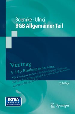 BGB Allgemeiner Teil von Boemke,  Burkhard, Ulrici,  Bernhard
