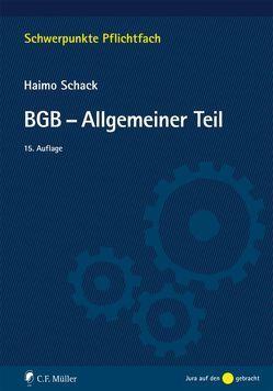 BGB-Allgemeiner Teil von Schack,  Haimo