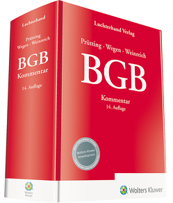 BGB Kommentar von Prütting,  Hanns, Wegen,  Gerhard, Weinreich,  Gerd