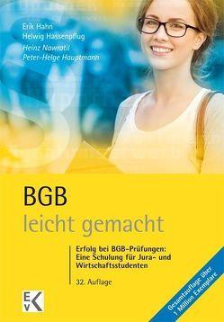 BGB – leicht gemacht von Hahn,  Erik, Hassenpflug,  Helwig, Hauptmann,  Peter H, Nawratil,  Heinz