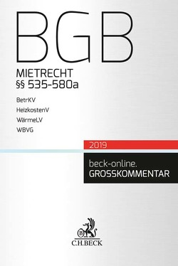 BGB Mietrecht von Gsell,  Beate, Krueger,  Wolfgang, Lorenz,  Stephan, Reymann,  Christoph, Schmidt,  H