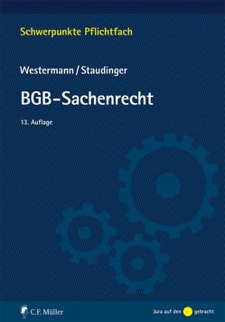 BGB-Sachenrecht von Staudinger,  Ansgar, Westermann,  Harm Peter