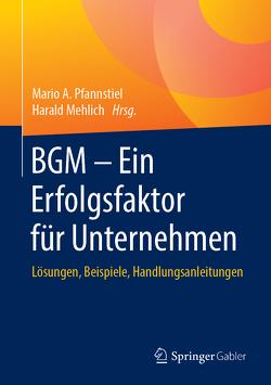 BGM – Ein Erfolgsfaktor für Unternehmen von Mehlich,  Harald, Pfannstiel,  Mario A.