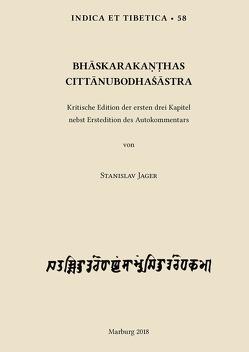 Bhaskarakanthas Cittanubodhasastra von Jager,  Stanislav