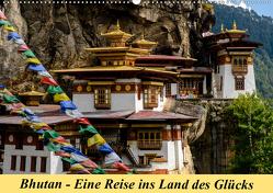 Bhutan – Eine Reise ins Land des Glücks (Wandkalender 2019 DIN A2 quer) von Maaß,  Jürgen