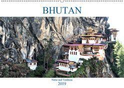 Bhutan – Natur und Tradition (Wandkalender 2019 DIN A2 quer) von A. Langenkamp,  Wolfgang