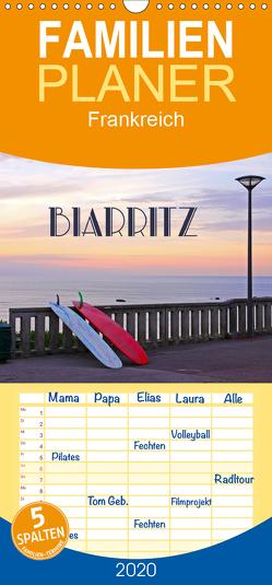 Biarritz – Familienplaner hoch (Wandkalender 2020 , 21 cm x 45 cm, hoch) von Rütten,  Kristina