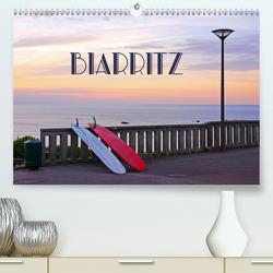Biarritz (Premium, hochwertiger DIN A2 Wandkalender 2020, Kunstdruck in Hochglanz) von Rütten,  Kristina