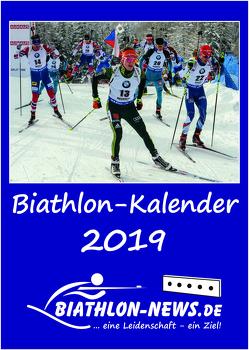 Biathlon-Kalender 2019 von Biathlon-News.de