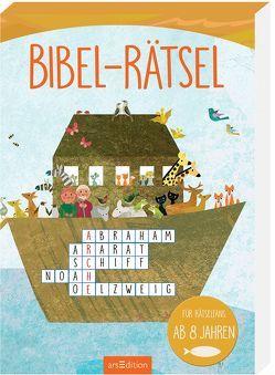 Bibel-Rätsel von Cüppers,  Dorothea, Hesse,  Elke, Teckentrup,  Britta