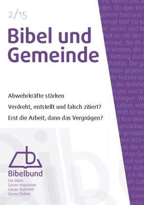 Bibel und Gemeinde