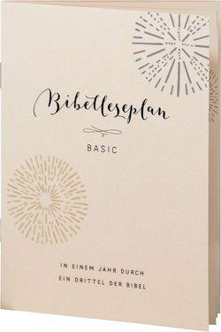 Bibelleseplan Basic von Deppe,  Hans-Werner