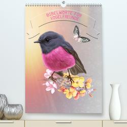 Bibelworte für Vogelfreunde (Premium, hochwertiger DIN A2 Wandkalender 2020, Kunstdruck in Hochglanz) von SWITZERLAND,  ©KAVODEDITION