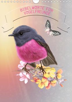 Bibelworte für Vogelfreunde (Wandkalender 2020 DIN A4 hoch) von SWITZERLAND,  ©KAVODEDITION