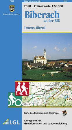 F528 Biberach an der Riss von Landesamt für Geoinformation und Landentwicklung Baden-Württemberg (LGL)