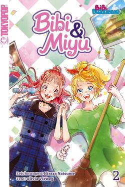 Bibi & Miyu 02 von Natsume,  Hirara, Vieweg,  Olivia