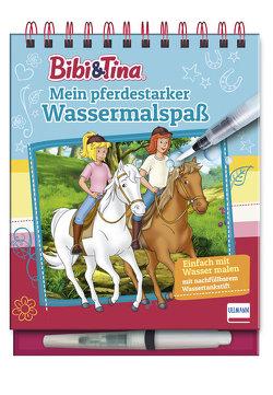 Bibi & Tina – Mein pferdestarker Wassermalspaß (Magic Water Colouring)