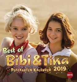 Bibi & Tina Postkartenkalender – Kalender 2019 von Heye