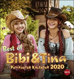 Bibi & Tina Postkartenkalender Kalender 2020 von Heye