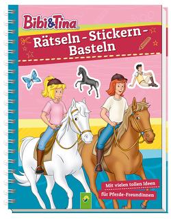 Bibi & Tina – Rätseln – Stickern – Basteln