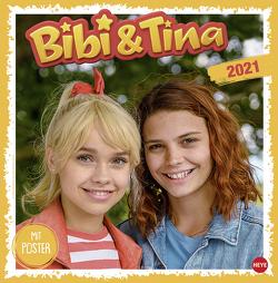 Bibi und Tina Die Serie Broschurkalender von Heye