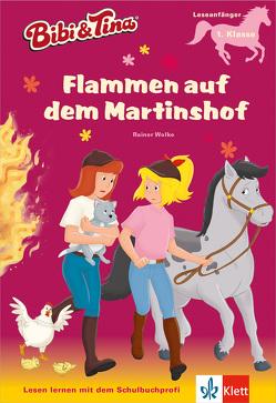 Bibi und Tina – Flammen auf dem Martinshof von Wolke,  Rainer