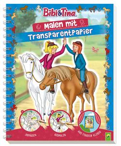 Bibi und Tina – Malen mit Transparentpapier