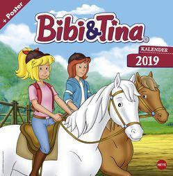 Bibi und Tina TV Broschurkalender – Kalender 2019 von Heye