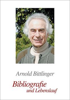 Bibliografie von Bittlinger,  Arnold