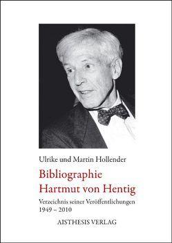 Bibliographie Hartmut von Hentig von Hollender,  Martin, Hollender,  Ulrike